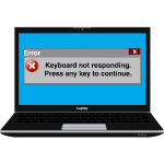 Error msg - Keyboard