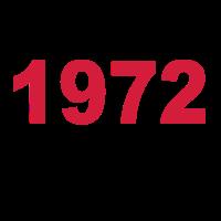 Geburtstag Jahrgang-Shirt 1972