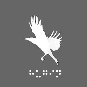 Logo Hugin line white png