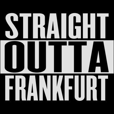 Straight Outta FFM - Gude, hier gibts ein cooles Straight Outta Compton Motiv im Frankfurt Style  Ein muss für jeden Frankfurter - t shirt,straight,outta,läuft,frankfurt,cool,cool,compton,Hessen,Ffm,Deutschland,2015
