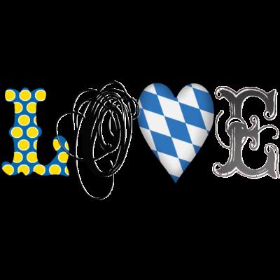 Love Bavaria Black - Stylisches Love Bayern Design für alle Sympathisanten des Freistaates Bayern. Viele andere Ländermotive in der Kategorie Worls of love  im Shop Cats In Love - lustig,dahoam,boarisch,Wiesn,Weißwurst,Weiß-blau,Tracht,Spatzl,Spatzel,Rosenheim,Oktoberfest,München,Lederhose Lederhosn,Landshut,I love,Heimat,GaudiShirtZ,Gaudi,Dirndl,Breze,Bierzelt,Bayrisch,Bayern,Bavaria,Ammersee