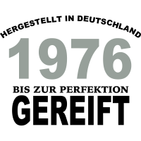 geburtstag Jahrgang-Shirt 1976