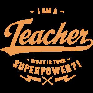 Superpower Teacher
