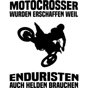 Motocrosser vs. Enduro