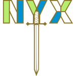 NYX with sword