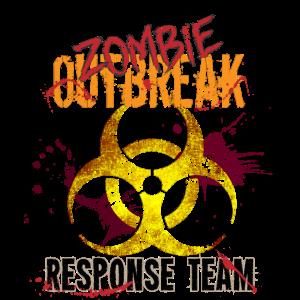 Zombie Outbreak response Team GAMER RAHMENLOS