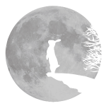 Wolfinchen hase kaninchen häschenosterhase  bunny karnickel mümmelmann mucki muckel muk meister lampe wolf mond werwolf vollmond
