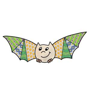 patchwork bat
