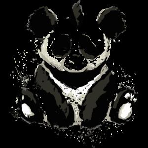 Inked Panda Bear