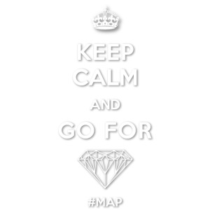KEEP CALM AND GO FOR DIAMOND SYMBOL png