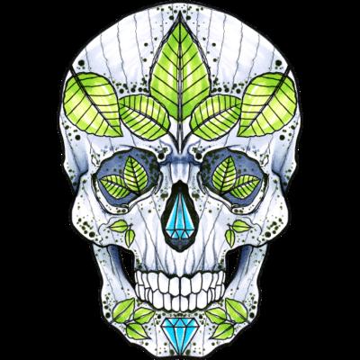 skully02 - Design von Ivaylo, Tattoo-Artist von Inkhouse-Tattoo & Bodypiercings Aschaffenburg - spiderwitch,inkhouse,Totenkopf,Tattoo,Skull,Schädel,Piercing,Aschaffenburg