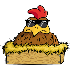 Deal with it! - Huhn