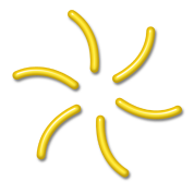 ELEXEMI - power of infinite freedom / boundlessness, yellow, digital, Antares Symbol System, protect