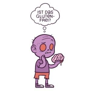 Ernährungsbewusster Zombie (lila)