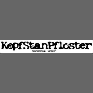 KopfStanPfloster Banner s w