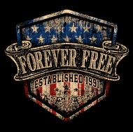 Jahrgang 1990 Geburtstagsshirt: Rahmenlos Foreverfree 1991 Jahrgang Geschenk