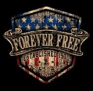 Jahrgang 1970 Geburtstagsshirt: Rahmenlos Foreverfree 1970 Jahrgang Geschenk
