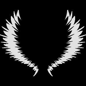 Flügel mit Schatten