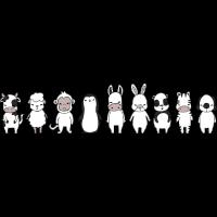 Lineart-Tiere