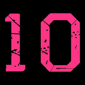10 Vektor Used Look - Farbwechsel