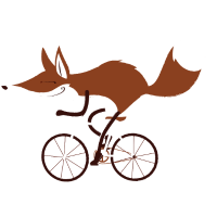 "Cycling Fox ""Race"""