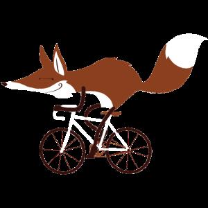 """Cycling Fox """"Race"""""""