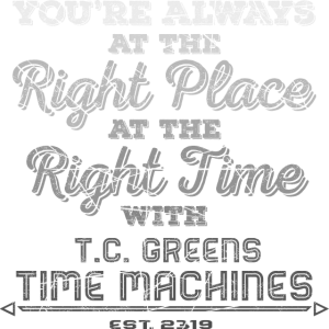 Right Place, Right Time - Black Shirts