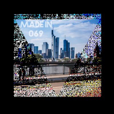 Made in 069 - Skylinefotografie aus Frankfurt am Main - l,frankfurt,Skyline,Hipster,Frankfurter,Frankfurt skyline,Frankfurt am Main,Ffm,Dreieck,069
