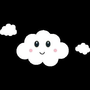 Glückliche Wolke