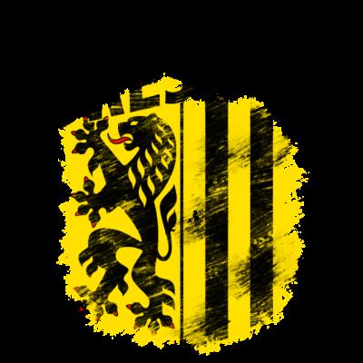 Dresden - Wappen der sächsischen Hauptstadt Dresden - Wappen,Sachsen,Dresden