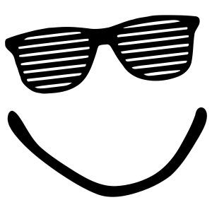 Big Smile - Smiley - Sonnenbrille