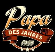 Jahrgang 1950 Geburtstagsshirt: Papa des Jahres Jahrgang 1958 RAHMENLOS Geschenk
