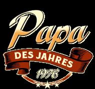 Jahrgang 1970 Geburtstagsshirt: Papa des Jahres Jahrgang 1976 RAHMENLOS Geschenk