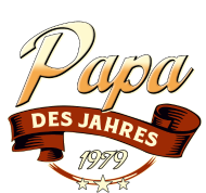 Jahrgang 1970 Geburtstagsshirt: Papa des Jahres Jahrgang 1979 RAHMENLOS Geschenk