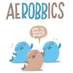 Aerobbics funny