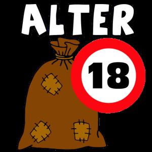 18.Geburtstag Alter Sack .../+