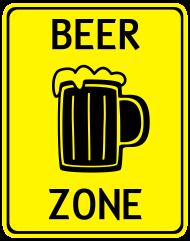 Oktoberfest & Wiesn Shirt: Beer zone