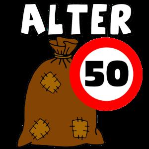 50.Geburtstag Alter Sack
