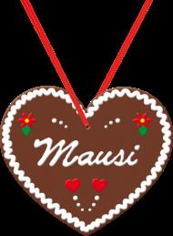 "Oktoberfest & Wiesn Shirt: Lebkuchenherz ""Mausi"""
