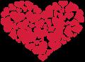 Motif Coeur de coeurs