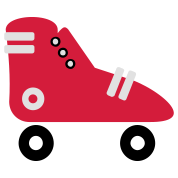 pattini a rotelle / roller skates (3c)