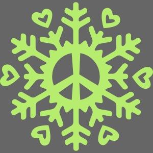 Peace & Love Snowflake