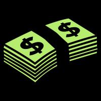 Money dollars Color
