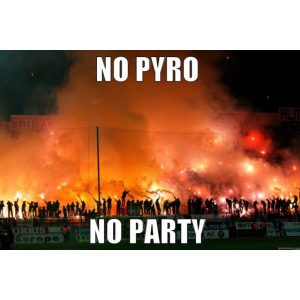 #NoPyroNoParty
