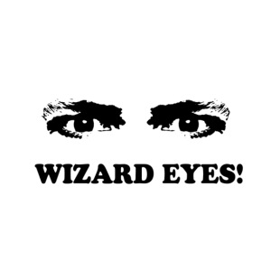wizard eyes black