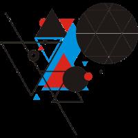 Dreiecke und Kreise