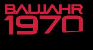 Jahrgang 1970 Geburtstagsshirt: baujahr 1970