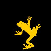 Gecko auf Sonnenscheibe