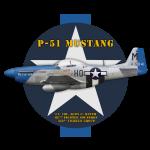 P-51-Mustang-shirt-design