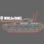 World of Tanks - Orange Outline Tank